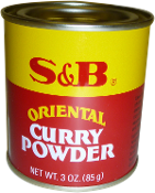 S&B Curry Powder 3 oz