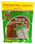 Asian Best Preserved Sweet Radish (Strips)