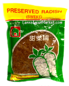 Asian Best Preserved Sweet Radish (Chopped)