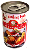 Red Curry Fried Mackerels
