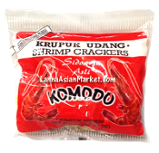 "Komodo Krupuk Udang Shrimp Crackers ""Small Chips"""