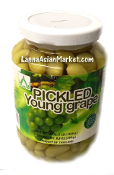 Pickled Young Grape