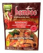 Bamboe Rendang Curry