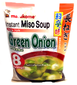 Marukome Instant Miso Soup <Green Onion, Wakame>