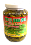 Caravelle Pickled Green Chili