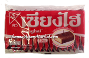 Sanghai Chocolate Flavoured Cream Wafers