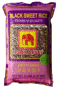 Asian Best Black Sweet Rice (Long Grain)