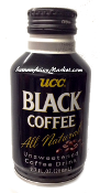 UCC Black Coffee All Natural <Unsweetened Coffee Drink>