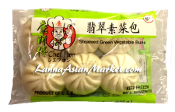 Chef Hon Steamed Green Vegetable Buns 6 PCS