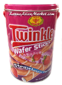 Honey Bee Twinkle Wafer Sticks <Strawberry Flavour>